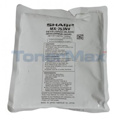 SHARP MX-M753 DEVELOPER BLACK